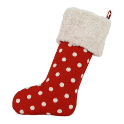 Chooty & Co. - Chooty & Co. Ikat Dot Red Lined Stocking - TT193158 - Shop for Holiday Ornaments and Decor from Hayneedle.com! About Chooty & Co.A lifelong dream of running a textile manufacturing business came to life in 2009 for Connie Garrett of Chooty & Co. This achievement was kicked off in September of '09 with the purchase of Blanket Barons well known for their imported soft as mink baby blankets and equally alluring adult coverlets. Chooty's busy manufacturing facility located in Council Bluffs Iowa utilizes a talented team to offer the blankets in many new fashion-forward patterns and solids. They've also added hundreds of Made in the USA textile products including accent pillows table linens shower curtains duvet sets window curtains and pet beds. Chooty & Co. operates on one simple principle: What is best for our customer is also best for our company.