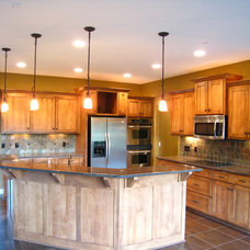 Traditional Kitchen by ADC Omaha