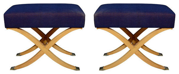 Traditional Upholstered Benches by 1stdibs