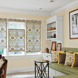 Fabulous fabric shades -