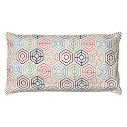 """Rizzy - Rizzy T05876 Pillow, 11"""" x 21"""" - Pillow with Hidden Zipper"""