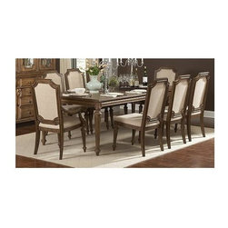 Homelegance - Eastover 5-Piece Dining Table Set - Includes table and four side chairs