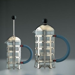 Alessi - Alessi | Michael Graves Press Filter Coffee Maker/Infuser - Design by Michael Graves, 1989.
