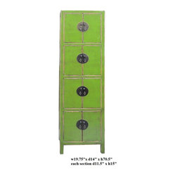 Tall Narrow Cabinet - This is a tall narrow storage free standing ...