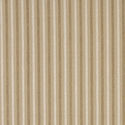 Beige Striped Heavy Duty Crypton Fabric By The Yard - P5867 is a woven crypton fabric. This material is breathable, stain, bacteria, moisture and abrasion resistant. Stains like blood and urine are easily removable with water and mild soap.