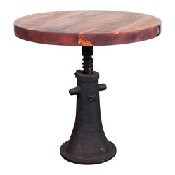 V40 End Table, Round