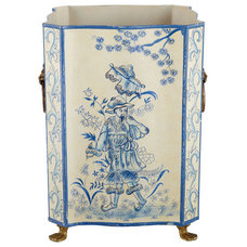 Asian Wastebaskets by Beth Connolly