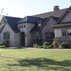 Traditional Exterior by Atkins Design Group