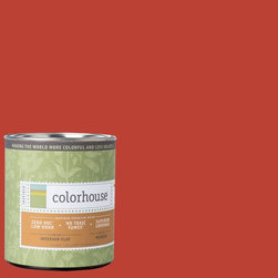 Inspired Flat Interior Paint, Petal .06, Quart - Colorhouse paints are zero VOC, low-odor, Green Wise Gold certified and have superior coverage and durability. Our artist-crafted colors are designed to be easy backdrops for living. Colorhouse paints are 100% acrylic with no VOCs (volatile organic compounds), no toxic fumes/HAPs-free, no reproductive toxins, and no chemical solvents.