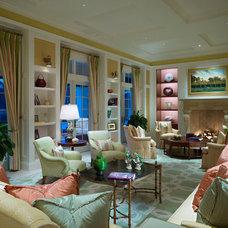 Traditional Living Room by Romanza Interior Design