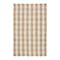 Country Living - Country Living Country Jutes Rug X-85-8102JTC - Another inspired ensemble from Country Living, the Country Jutes Collection exemplifies the essence of casual style. Hand-woven from all natural jute in monochromatic shades of beige, each rug combines fibers to create a variety of patterns that exude a simple elegance ideal for traditional to transitional interiors.