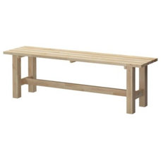 Modern Benches by IKEA