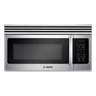 """Bosch 30"""" 300 Series Over The Range Microwave, Stainless Steel 