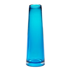 Cyan Design - Cyan Design Glass Vase in Cobalt - Glass Vase in Cobalt