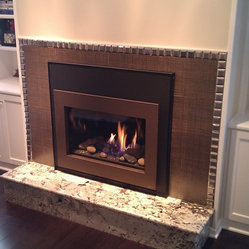 Contemporary Fireplaces Find Gas Electric Wood And