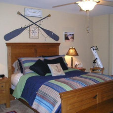 Eclectic Bedroom by Illuminations of the Triad