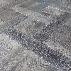 Mediterranean Wood Flooring by Vintage Elements LLC