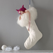Traditional Christmas Stockings And Holders by West Elm