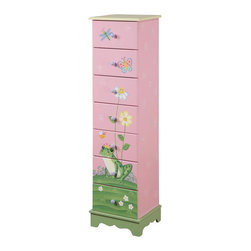 Teamson Design - Teamson Kids Magic Garden 7-Drawer Cabinet - Teamson Design - Kids Dressers - W8987A. The Teamson Magic Garden 7-Drawer Cabinet is part of an expansion of one of our best collections - featuring 7 working drawers and a unique and hand crafted design that is sure to bring joy to your children! The Teamson Magic Garden 7-Drawer Cabinet is part of an expansion of one of our best collections - featuring 7 working drawers and a unique and hand crafted design that is sure to bring joy to your children!
