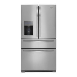 "Whirlpool - WRX988SIBM 36"" Stainless Collection  28.1 cu. ft. French Door Refrigerator  Doub - When it comes to refrigerators you want fullproof food preservation While most brands can keep food fresh Whirlpool brand takes it further by offering refrigerators that work with your lifestyle You want ample and easily accessible storage space incl..."