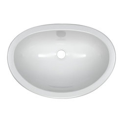 Lyons Deluxe - Lyons Deluxe 17.5 x 12.25 Inch Single Bowl Lavatory Sink - Undermount or Drop-In - Shop for Bathroom from Hayneedle.com! Complete your bathroom with the ultra-durable Lyons Deluxe 17.5 x 12.25 Inch Single Bowl Lavatory Sink - Undermount or Drop-In. Crafted of easy-clean high-gloss acrylic this self-rim sink is easy to install and fits most granite and solid-surface vanity tops. Fiberglass insulation provides superior heat retention Fitted with a simple mounting tab and clip system Available in your choice of color Dimensions: 17.5L x 12.25W x 7H inches Proudly made in America About Lyons IndustriesRooted in the small Midwestern town of Dowagiac Michigan Lyons Industries is a family-owned company. Founded in 1968 Lyons began with the development of a single product a simple plumbing vent and grew into a full-range line of bathtubs showers and kitchen sinks that are sold around the country. After four decades of growth Lyons remains committed to family values and a devotion to premium craftsmanship.