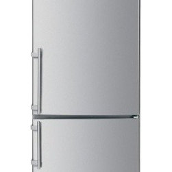 "Liebherr - CS-1400 30"" Counter-Depth Bottom Freezer Refrigerator with 14.0 cu. ft.  Adjusta - This Liebherr counter-depth bottom freezer refrigerator has a capacity of 140 cu ft Dual variable speed compressors preserve foods better and are more energy efficient quieter and longer lasting The doors are reversible so you can choose which side y..."