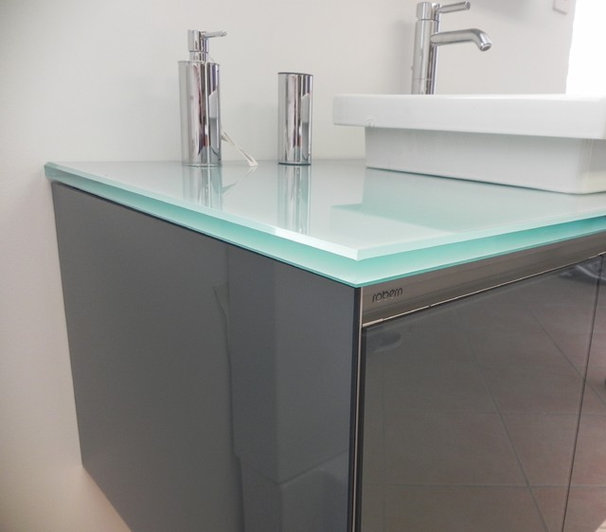 Modern Vanity Tops And Side Splashes by Cristallo SP