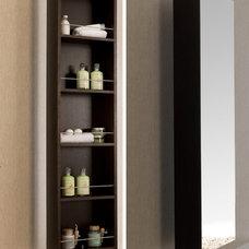 Contemporary Bathroom Storage by Macral Design Corp.