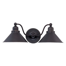 Nuvo Lighting - Nuvo Lighting 60-1711 Bridgeview 2-Light Wall Sconce - Nuvo Lighting 60-1711 Bridgeview 2-Light Wall Sconce