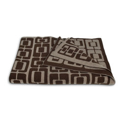 Munjoy Knit Throw - Cozy up with modern and luxurious lambswool knit throws.