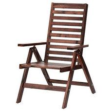 ÄPPLARÖ Reclining chair, brown