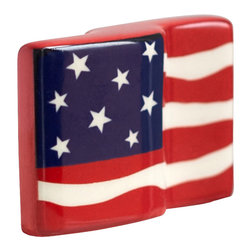 """Nora Fleming - Nora Fleming Flag Mini - True to the """"One gift, every occasion"""" idea, the Nora Fleming pieces are simple, functional, and creative. In just three short steps, change the platter for every holiday, event, and celebration!"""