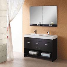 Modern Bathroom Vanities And Sink Consoles Gloria Modern Vanity by Virtu USA