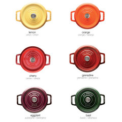 modern cookware and bakeware by Staub