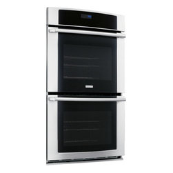 """30"""" Electric Double Wall Oven with Wave-Touch Controls by Electrolux - Sure-2-Fit Capacity"""
