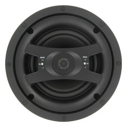 """InwallTech - InwallTech HD-650.1C High Definition 6 1/2"""" Virtually Invisible Ceiling Speaker - The Kevlar® in the woofers (for low frequencies), is a high-end speaker material that is very lightweight and resists flexing under stress. This means that you get smooth steady low frequencies without distortion at even higher sound pressure levels."""
