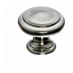 Top Knobs - Brushed Nickel Cabinet Knobs - Top Knobs item number M1116 is a beautifully finished Brushed Nickel Cabinet Knobs. Product Dimension(s): Hole Spacing: 19.05 mm. /  3/4 in.Diameter: 28.702 mm. / 1 1/8 in.Projection: 26.924 mm. / 1 1/16 in.
