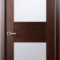 Contemporary Interior Doors by EVAA Home Design Center