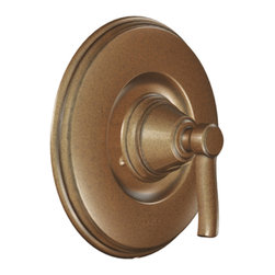 """Moen - Moen T2211AZ Antique Bronze Posi-Temp Valve Trim, 1-Function Balanced Cartridge - Moen T2211AZ is part of the Rothbury bath collection. Moen T2211AZ is a new bathroom decor style by Moen. Moen T2211AZ has an Antique Bronze finish. Moen T2211AZ Posi-Temp valve only trim fits MPact common valve Posi-Temp 1/2"""" valve available separately. Moen T2211AZ is part of the Rothbury bath collection with a relaxed blend of vintage design and traditional elements that fits perfectly with both casual and luxurious decorating styles. Moen T2211 valve trim includes single-function pressure balancing Cartridge. Back to back capability. Moen T2211 is a single handle valve trim only, the handle adjusts temperature. Moen T2211AZ valve only single handle trim provides for ease of operation. Moen T2211AZ Posi-Temp pressure balancing valve maintains water pressure and controls temperature, with adjustable temperature limit stops to control max. hot water. Moen T2211AZ is ADA approved. Antique Bronze is an exclusive finish guarantee from Moen and provides style and durability. Moen T2211AZ metal lever handle meets all requirements ofADA ASME A112.18.1/ CSA B125.1. Lifetime Limited Warranty."""
