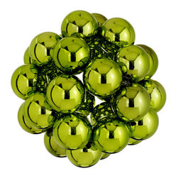 Silk Plants Direct - Silk Plants Direct Multi Ball Ornament (Pack of 2) - Pack of 2. Silk Plants Direct specializes in manufacturing, design and supply of the most life-like, premium quality artificial plants, trees, flowers, arrangements, topiaries and containers for home, office and commercial use. Our Multi Ball Ornament includes the following:
