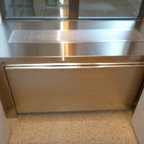 Modern Stainless AC/Radiator Cover - -Custom stainless steel cover with