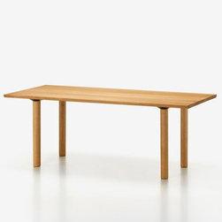 Vitra - Wood Table | Vitra - Design by Edward Barber & Jay Osgerby, 2014.