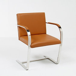 Modern Classics - Mies van der Rohe: Executive Guest Chair: BRNO-chair Reproduction - Features: