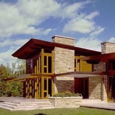 Modern Exterior by Eifler & Associates Architects