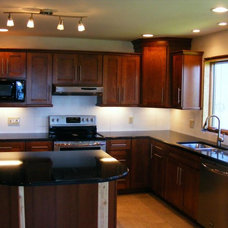 Modern Kitchen Cabinets by Four Points Remodeling & Design Center