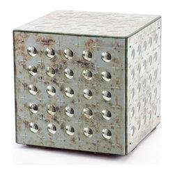"Cubed - Dimensions: 17"" H x 16"" W x 16"" D"