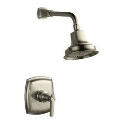 KOHLER - KOHLER K-T16234-4-BN Margaux Rite-Temp Shower Faucet Trim with Lever Handle - KOHLER K-T16234-4-BN Margaux Rite-Temp Shower Faucet Trim with Lever Handle in Brushed Nickel