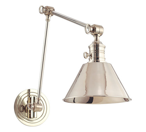 Hudson Valley Lighting - Hudson Valley Lighting 8323-PN Garden City 1 Light Wall Sconces in Polished Nick - This 1 light Wall Sconce from the Garden City collection by Hudson Valley Lighting will enhance your home with a perfect mix of form and function. The features include a Polished Nickel finish applied by experts. This item qualifies for free shipping!