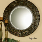 Alita - This oval mirror features a frame made of hand