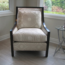 Contemporary Armchairs And Accent Chairs by The Expert Touch Interiors